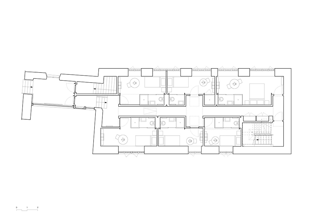 west dean college, ,sussex, adam richards architects, architecture, architectural drawing